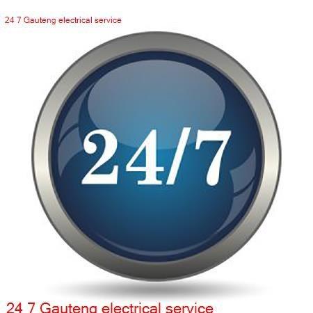 24 7 Gauteng Electricians